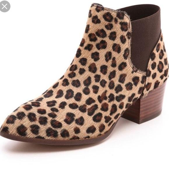 excellent quality run shoes buy online Kurt Geiger Shoes   Calf Hair Leopard Print Booties   Poshmark